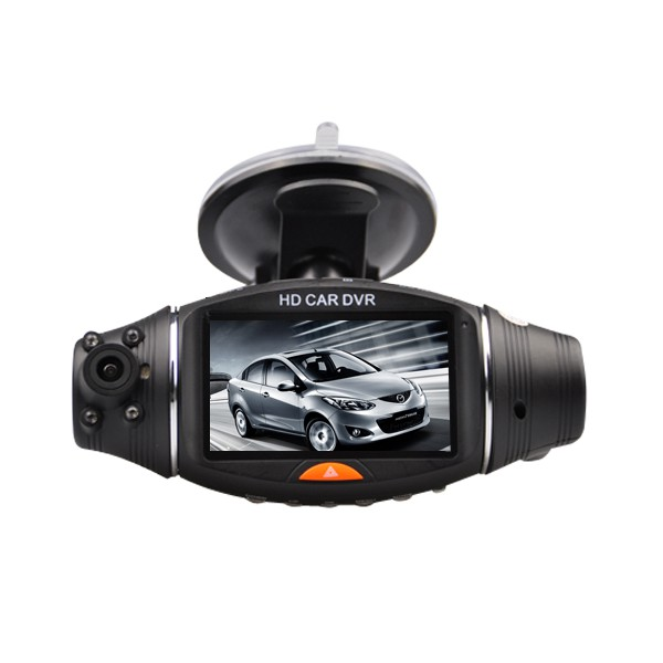 cam ra voiture hd double avec tracker gps alarme et video surveillance. Black Bedroom Furniture Sets. Home Design Ideas